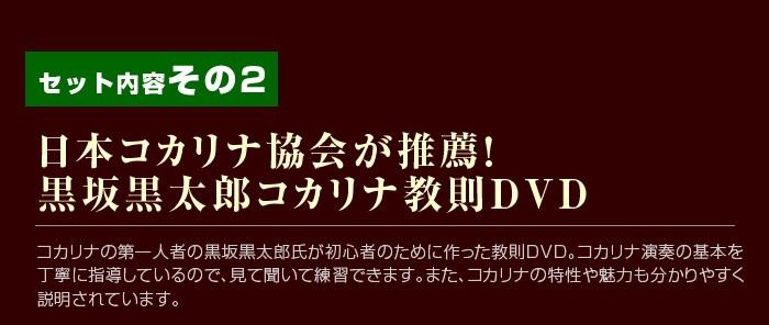 コカリナ入門セット01