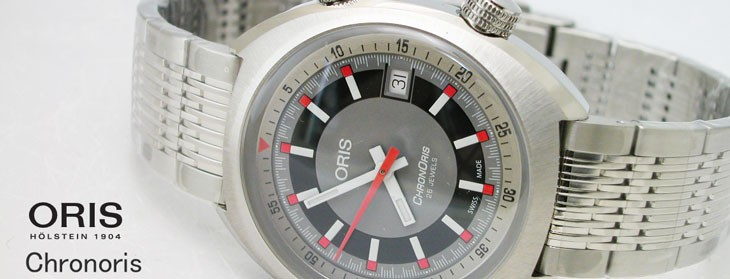 オリス 腕時計 クロノリス デイト 自動巻