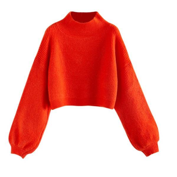 リブニット レディース トップス 冬 ニット ニットウエア 長袖 大きいサイズ プルオーバー ハイネック taiyousya 17