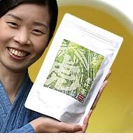 日本唯一の虎竹茶