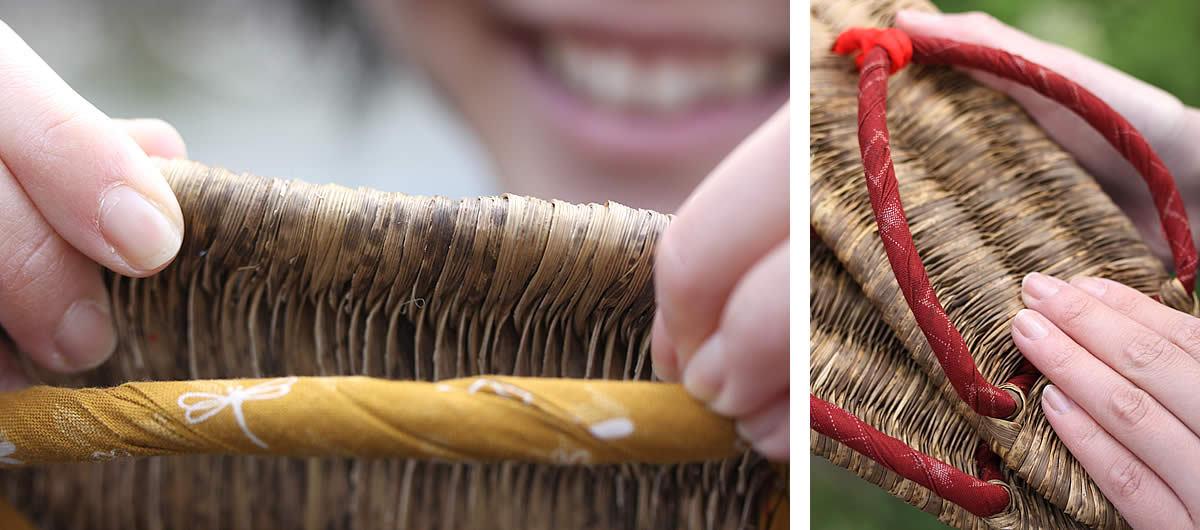 竹皮草履の製造動画