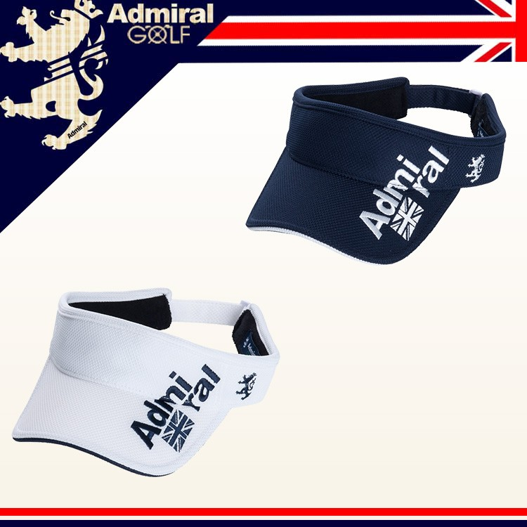 Admiral Golf  VISOR アドミラル ゴルフ 鹿の子 カノコ バイザー サンバイザー