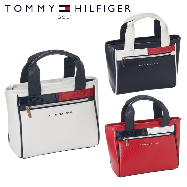 TOMMY HILFIGER GOLF トミーヒルフィガー ゴルフ FLAG ACCENT ROUND BAG