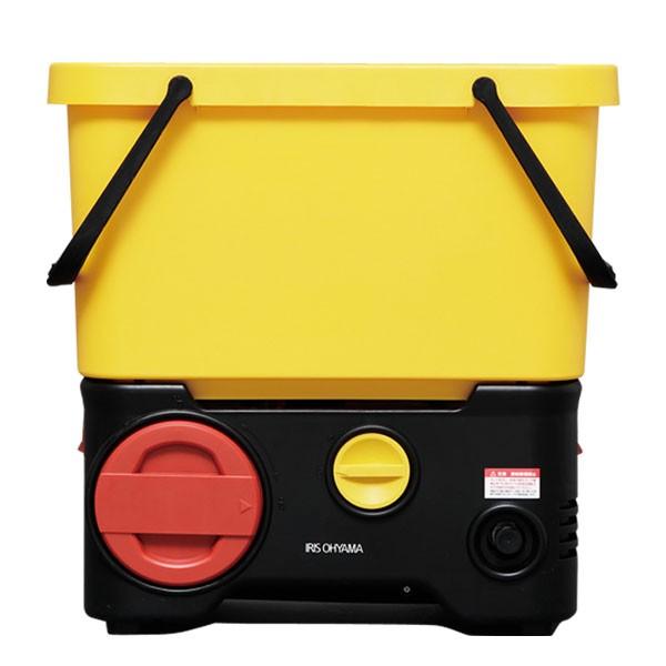 タンク式高圧洗浄機 充電タイプ SDT-L01 ホワイト/グレー アイリスオーヤマ