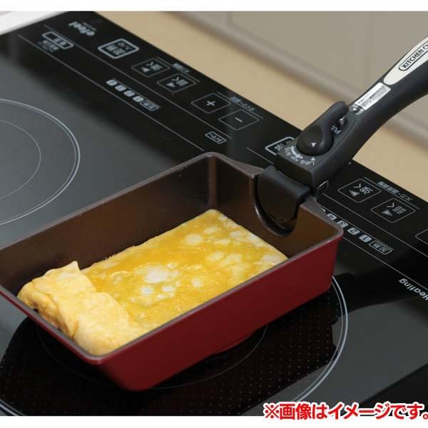アイリスオーヤマダイヤモンドコートパンIH用 エッグパン