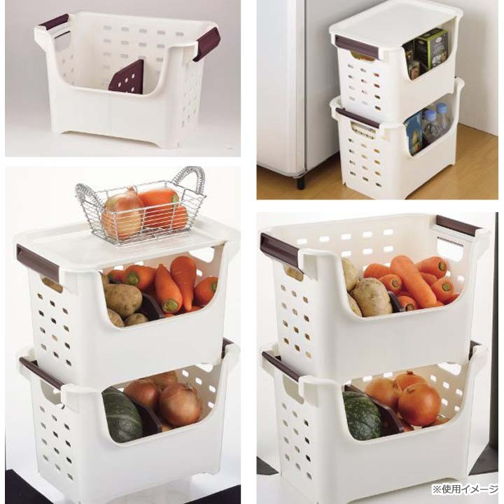 スタッキングボックスは、キッチンで大活躍!