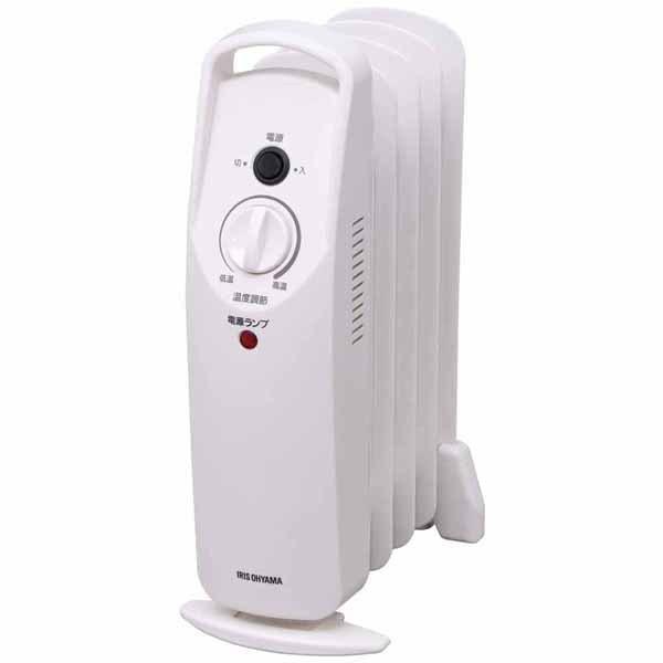 オイルヒーター 電気代 省エネ 安い ヒーター オイルストーブ 小型 ミニオイルヒーター POH-505K-W アイリスオーヤマ 暖房 500W トイレ用 室内用 takuhaibin 22