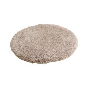 チェアパッド 洗える シャギー 円形 『スレッド』 約35cm丸 イケヒコ・コーポレーション (代引不可)(TD)|takuhaibin|03