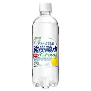 炭酸水 500ml 48本 伊賀の天然水 サンガリア 強炭酸水 天然水 レモン プレーン サンガリア 48本セット 24本入 2ケース 日本サンガリア 送料無料 まとめ買い|takuhaibin|06