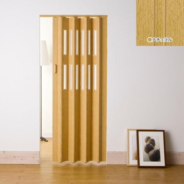 窓付きパネルドア 99×174cm L5003・L5004・L5005・L5006 ライトブラウン・ダークブラウン・ナチュラル・ホワイトウッド