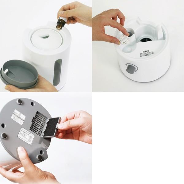 アロマ超音波式加湿器 Ms.ミスト ver.4