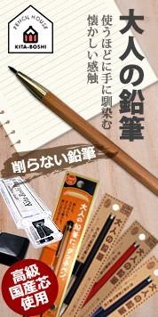 大人の鉛筆 シャーペン
