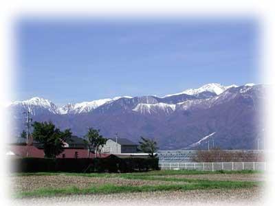 中央アルプス木曽駒ヶ岳
