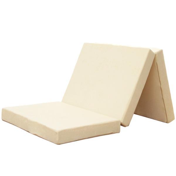マットレス 折りたたみ シングル 三つ折り 高反発マットレス 高反発ウレタン 10cm ベッドマットレス|tansu|19