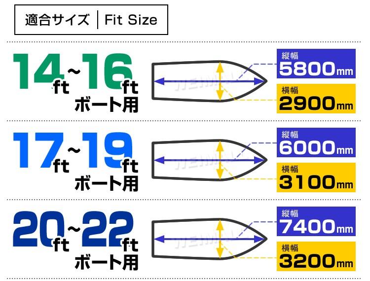ボートカバー説明6