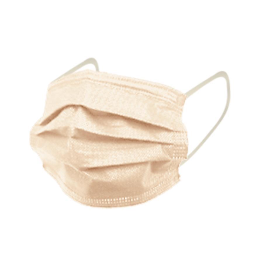 マスク 50枚 血色 ZIP! めざましテレビで紹介 不織布マスク やわらか ふつうサイズ  10枚ずつ個包装  WEIMALL製 オリジナル 両面カラー 平ゴム 小顔 予31|tantobazarshop|24