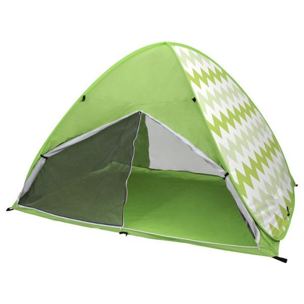 ワンタッチテント サンシェードテント フルクローズ 簡単 ドームテント UV 海水浴 キャンプ用品 前後メッシュスクリーンタイプ tantobazarshop 22
