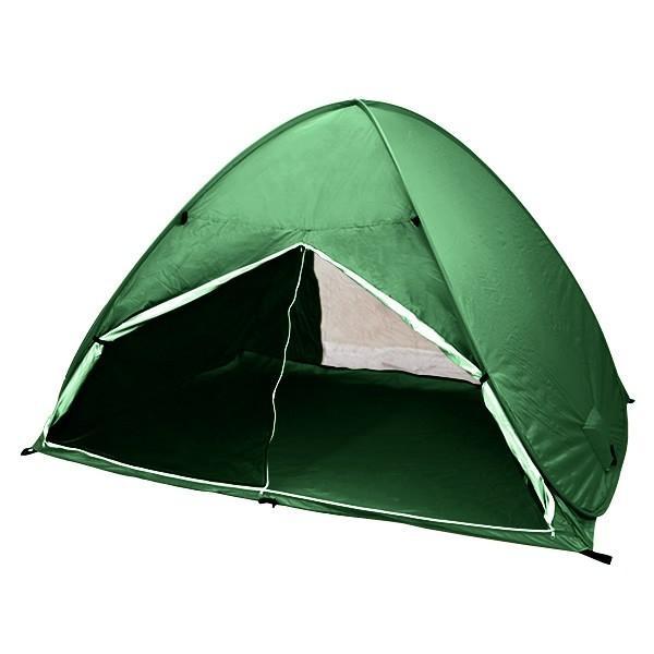 ワンタッチテント サンシェードテント フルクローズ 簡単 ドームテント UV 海水浴 キャンプ用品 前後メッシュスクリーンタイプ tantobazarshop 19