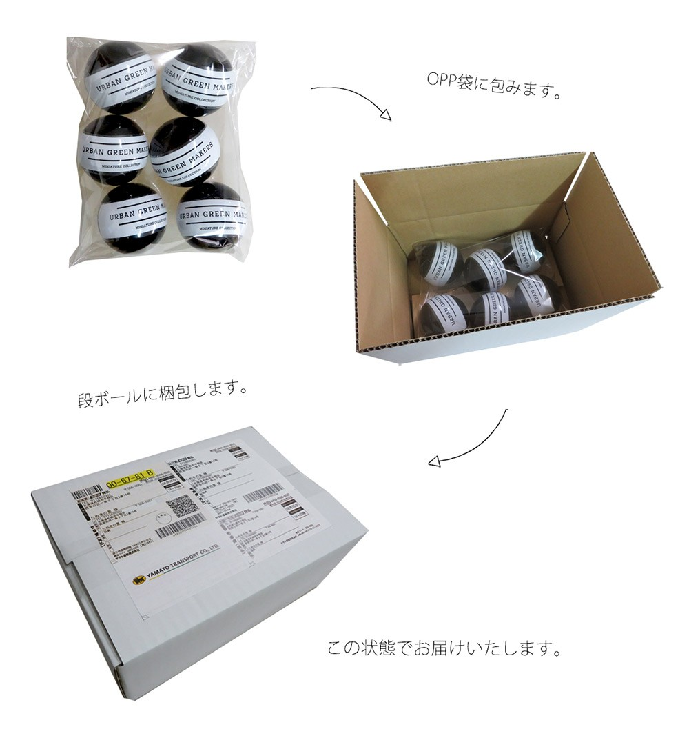 ヤマト宅急便の梱包方法の説明画像