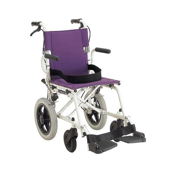 車椅子 軽量 折りたたみ コンパクト (車いす、車イス) 携帯用 旅ぐるまKA6(介護用 介助用 車いす 外出用 アルミ)|tc-mart|08