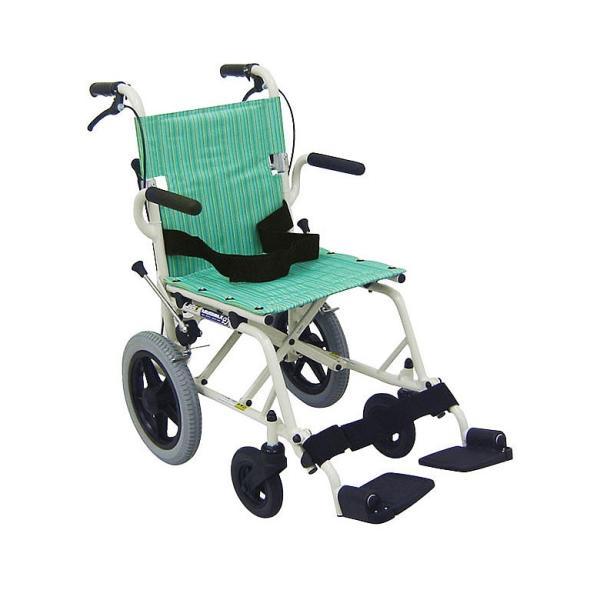車椅子 軽量 折りたたみ コンパクト (車いす、車イス) 携帯用 旅ぐるまKA6(介護用 介助用 車いす 外出用 アルミ)|tc-mart|07