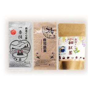 お茶 選べるお茶の福袋 新茶 父の日ギフト 鹿児島茶 知覧茶 嬉野茶 茶葉300g他|tea-sanrokuen|21