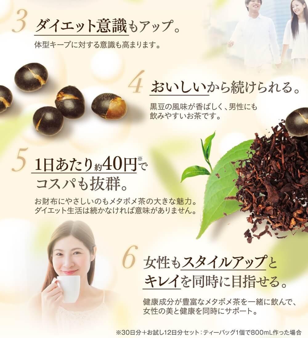 メタボメ茶
