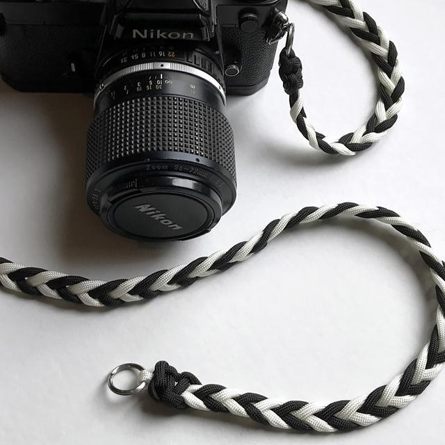 一眼レフカメラストラップ(ツートン) teamiya 05