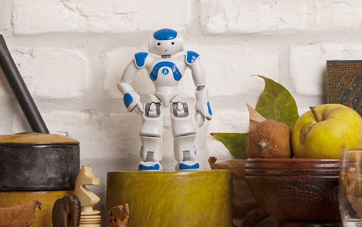 小型ロボットNAO