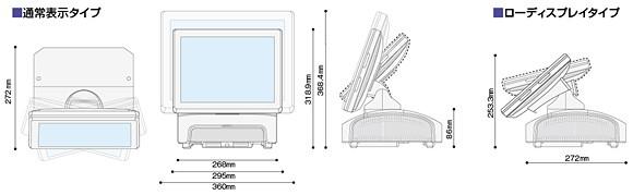 高性能タッチPOSターミナルWILLPOS-Touch QT-11