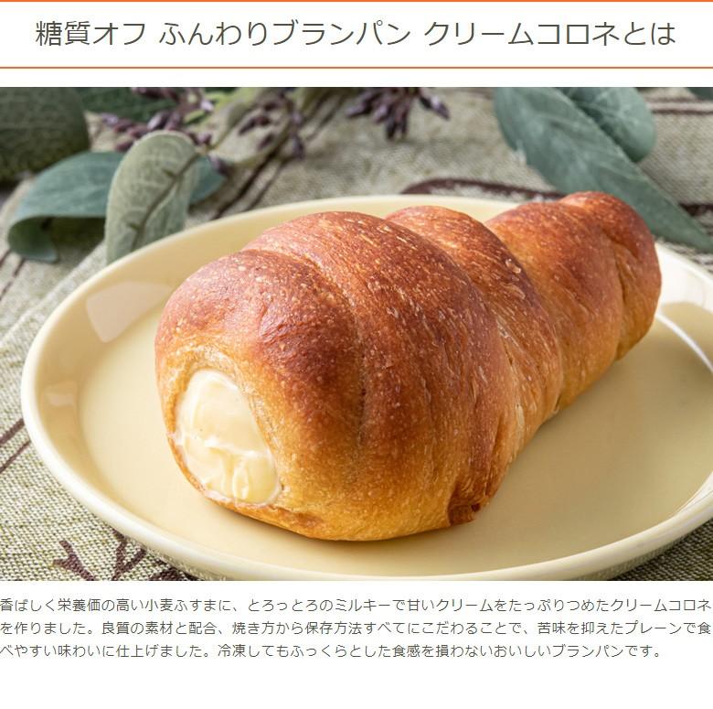 糖質オフ ふんわりブランパン クリームコロネとは