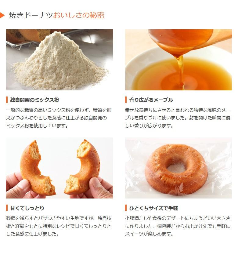 焼きドーナツおいしさの秘密/低糖質/糖質制限/糖質制限ダイエット/置き換えダイエット/糖質オフ/糖質カット/低GI