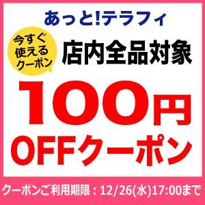 ■店内全品で使える100円OFFクーポン - 2018年10~12月■