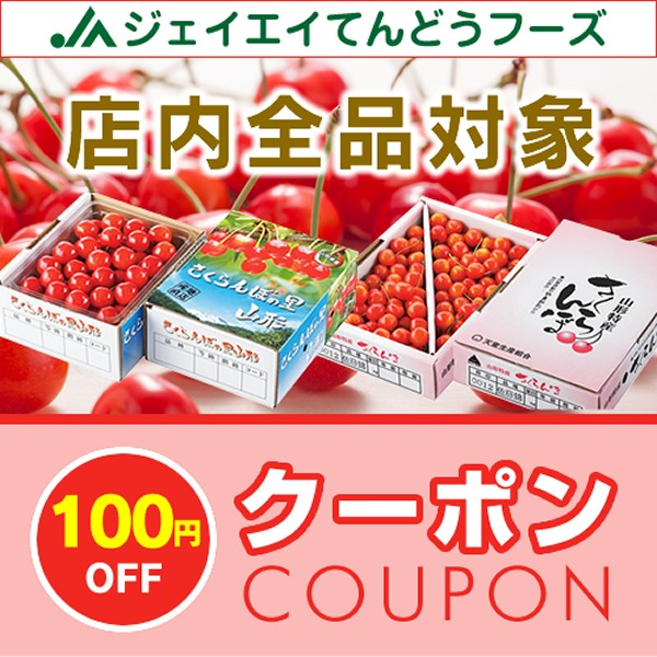 【店内全品100円OFFクーポン】山形グルメJAてんどうフーズ