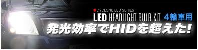 4輪車用LEDヘッドライトバルブキット