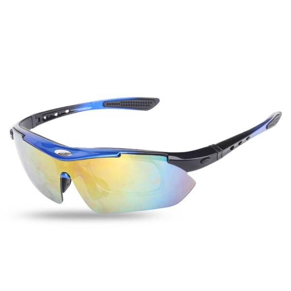 スポーツサングラス 偏光 メンズ レディース ケース付き 超軽量 UVカット ゴルフ サイクリング 自転車用 野球 釣り XTSG18SS|tfashion|16