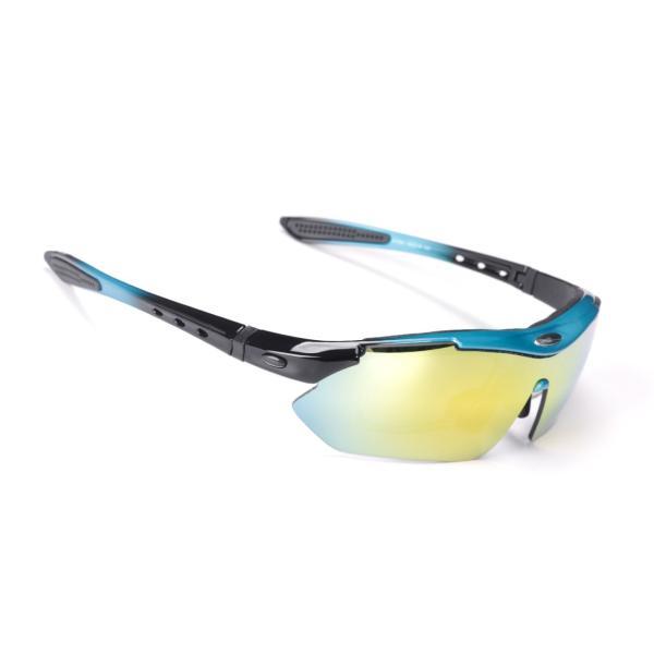 スポーツサングラス 偏光 メンズ レディース ケース付き 超軽量 UVカット ゴルフ サイクリング 自転車用 野球 釣り XTSG18SS|tfashion|18