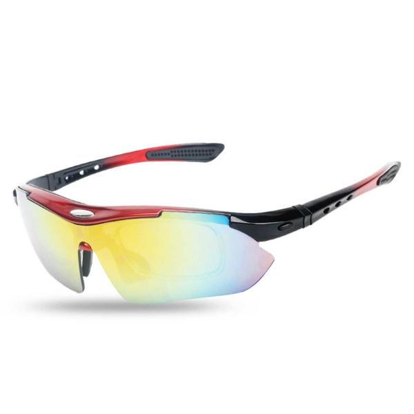 スポーツサングラス 偏光 メンズ レディース ケース付き 超軽量 UVカット ゴルフ サイクリング 自転車用 野球 釣り XTSG18SS|tfashion|17