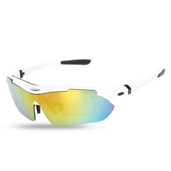 スポーツサングラス 偏光 メンズ レディース ケース付き 超軽量 UVカット ゴルフ サイクリング 自転車用 野球 釣り XTSG18SS|tfashion|15