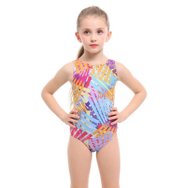 子供用 水着 スクール水着 キッズ ジュニア 女の子 競泳水着 フィットネス 練習用 おしゃれ スイムウェア 9528|tfashion|14