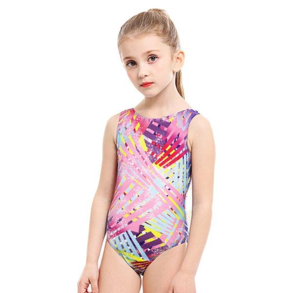 子供用 水着 スクール水着 キッズ ジュニア 女の子 競泳水着 フィットネス 練習用 おしゃれ スイムウェア 9528|tfashion|15