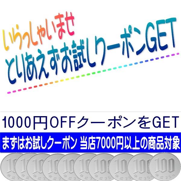 いらっしゃいませ まずはお試しクーポン 1000円OFF