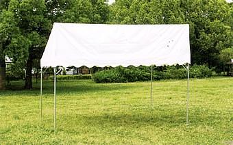 片屋根型テント