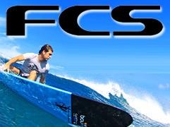 """サーフィンの世界ブランド """"FCS"""""""