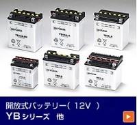 開放式バッテリー12V