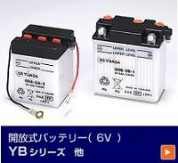 開放式バッテリー6V