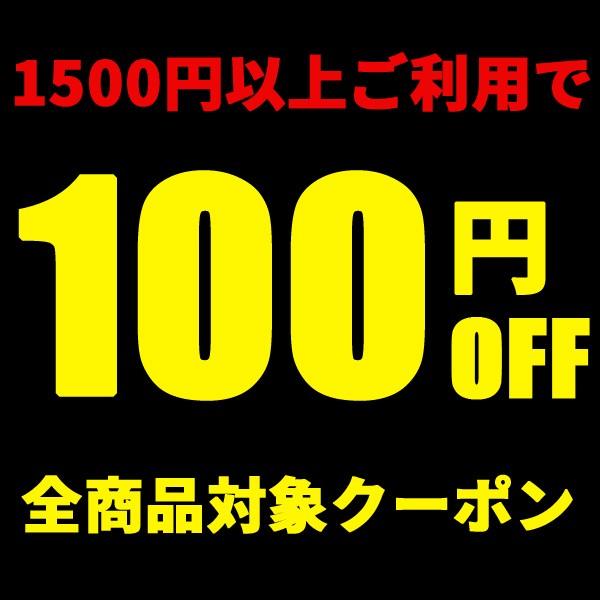 1500円以上のお買い上げで100円OFFになるクーポン券!