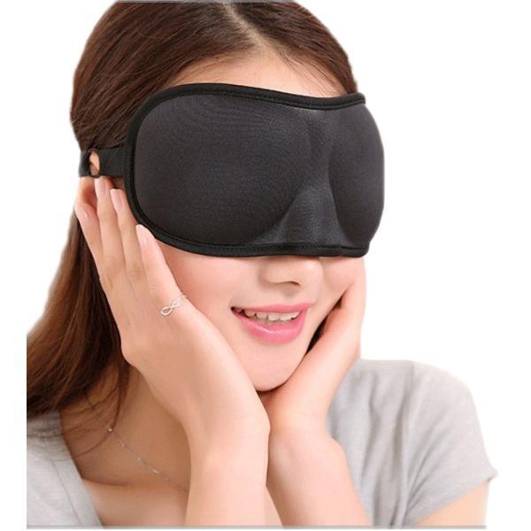 立体型 アイマスク 3Dアイマスク リバーシブル立体型で目を圧迫しない マイメイクが崩れにくい 旅行用品 旅行便利グッズ 海外旅行グッズ 安眠 セール|thebest|07