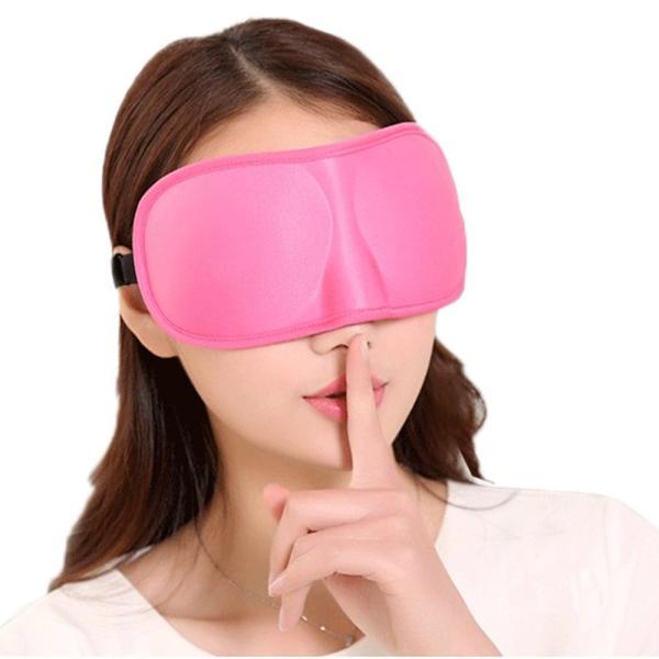 立体型 アイマスク 3Dアイマスク リバーシブル立体型で目を圧迫しない マイメイクが崩れにくい 旅行用品 旅行便利グッズ 海外旅行グッズ 安眠 セール|thebest|08