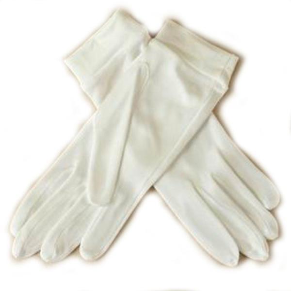 シルク100%手袋 日除けテブクロ 紫外線防止 手湿疹や手荒れに最適なシルク手袋 セール thebest 10